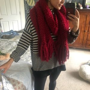 Urban Outfitters super thick-knit scarf